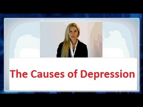 The Causes of depression in Men or Women