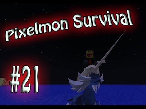 Trainer Cheating? Pixelmon Survival Season 2! #21