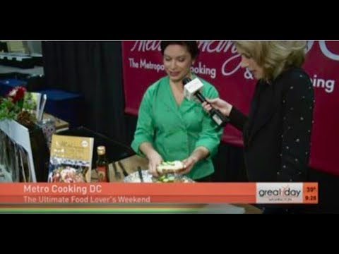 Amy Riolo at Metro Cooking DC