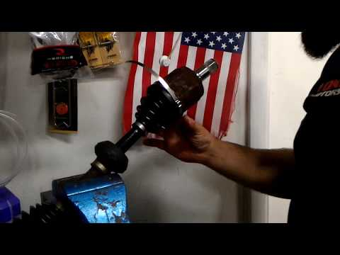 How to replace CV boots and install Speedi Boot on your Axle CV joint boot quick and easy