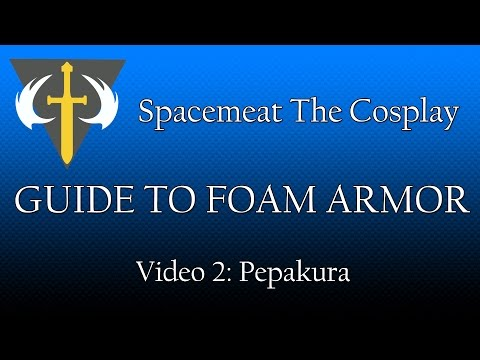 Guide to Foam Armor: Video 2 - Pepakura (Halo Cosplay)