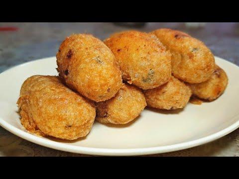 [Mauritian Cuisine] Crispy Mashed Potato Fritters Recipe | Croquette de Pomme de Terre