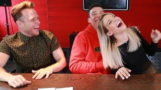 INCREDIBLE ACCENT CHALLENGE!!! ft Olly Murs & Louisa Johnson