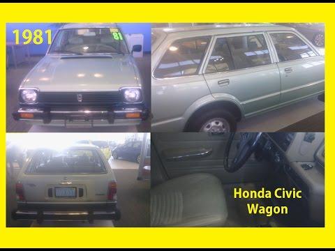 1981 Honda Civic Wagon Hatchback Car 4dr (Japanese Made Highest Quality ホンダ ホンダシビックワゴン)