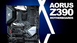 Newegg Insider: Z390 Motherboards from GIGABYTE and Aorus