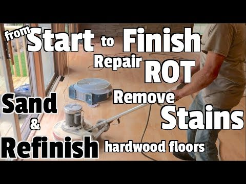 Hardwood Floors-Repair, Refinish, and Restore - DIY Home renovation