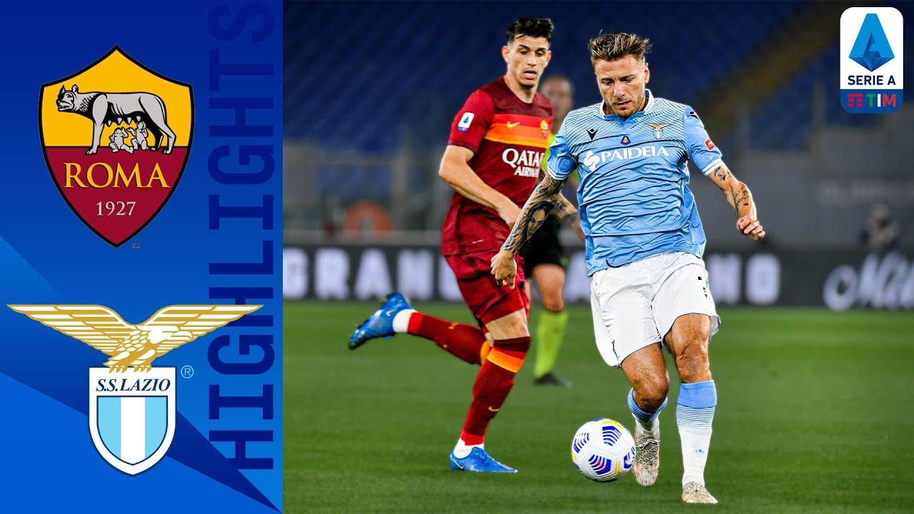 Roma 2-0 Lazio   Roma Enjoy First Derby della Capitale Win Against Lazio Since 2018   Serie A TIM