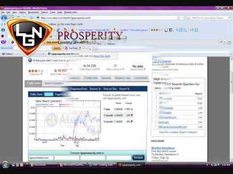 LGN Worldwide Net traffic, check your Company website rank at Alexa.com