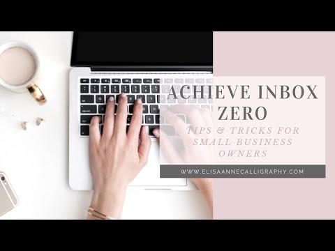 Achieve Inbox Zero as a Small-Business Solopreneur or Entrepreneur