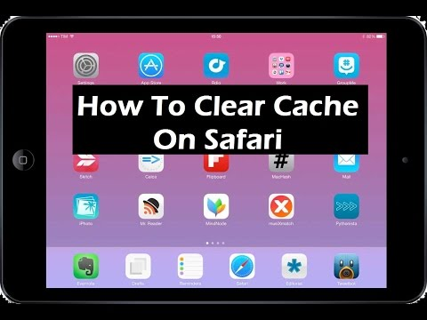How To Clear Cache On Safari iPad / iPhone