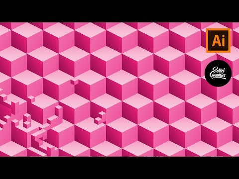 How To Make A 3D Geometric Pattern In Illustrator