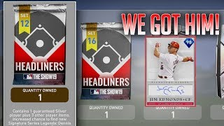 98 OVR Signature Series Jim Edmonds|Moments Extreme Caution Set Pack Opening|MLB The Show 19|