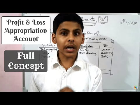 Video#4 | Concept of profit and loss appropriation account| accountancy class 12th