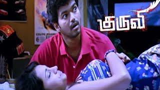 Kuruvi Kuruvi Tamil Movie Scenes Trisha Kisses Vijay Vijay Try To Find Out The Diamond Vij