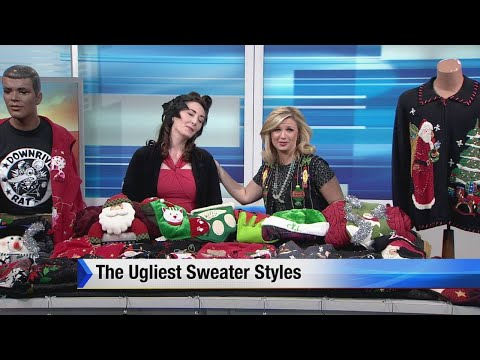 Ugliest sweater styles for holiday parties