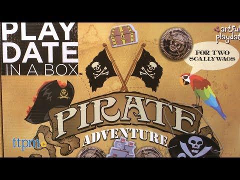 Playdate in a Box Pirate Adventure from Artful Playdate