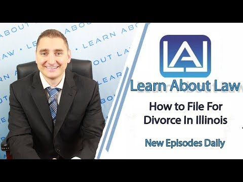 How to File For Divorce In Illinois | Illinois Petitions for Dissolution of Marriage