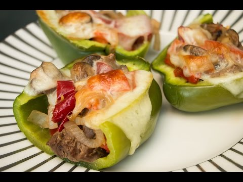 Philly Cheesesteak Stuffed Peppers | Diabetes-Friendly Recipe | Blue Meals