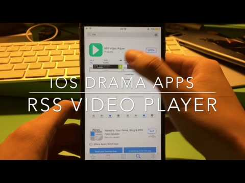[iOS] Rss Player - Free Drama app