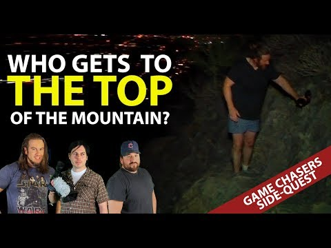 The Game Chasers Foolishly Climb a Mountain - Side Quests