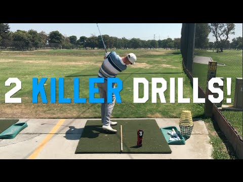 Two Killer Golf Drills that WORK to make you BETTER!