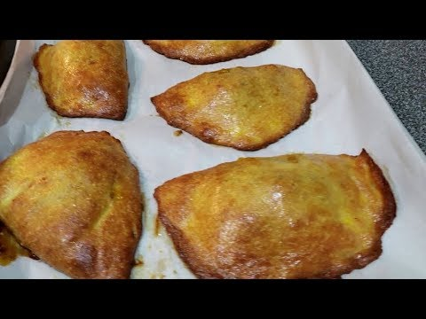 How to Make Healthy African Meatpies | Keto Empanadas | Keto Meat Pie