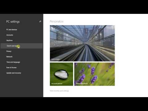 Choosing the default apps for specific file types or tasks on Windows 8.1