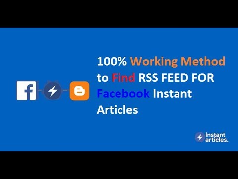 HOW TO FIND RSS FEED FOR PRODUCTION ARTICLES FACEBOOK IN HINDI Tutorial