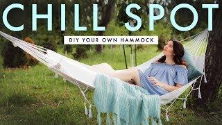ultimate summer chill spot diy your own hammock