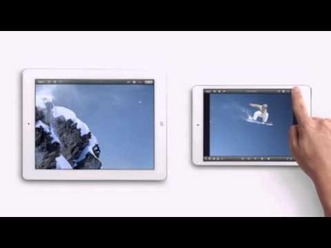 apple ad - ipad mini photos