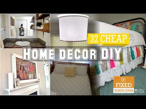 32 Cheap home decor DIY [New V.O]