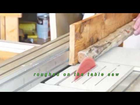arbutus drift wood to a walking stick