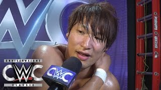 Kota Ibushi is feeling the effects of his brutal Quarterfinal showdown: CWC Exclusive, Aug. 31, 2016