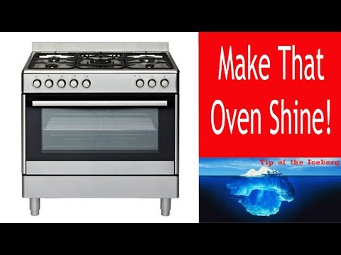🍋 How to Clean Your Oven with Baking Soda, Vinegar and Lemon. All natural and chemical free. 🍋