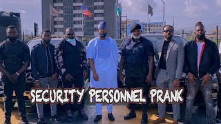 AFRICAN SECURITY PERSONNEL PRANK