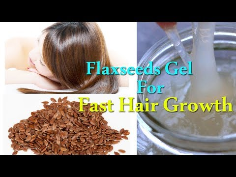 Hair Growth | Flaxseeds Gel for Fast Hair Growth | Flaxseed Hair Gel | Natural Hair Gel