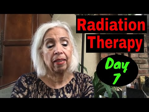 Radiation Therapy - Day Seven - & A Weekend Off