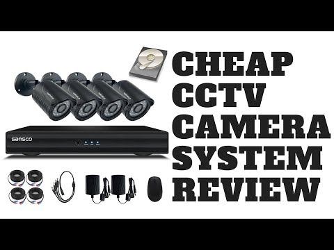Cheap CCTV Camera System Review