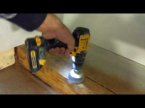 How to clean old wood steem