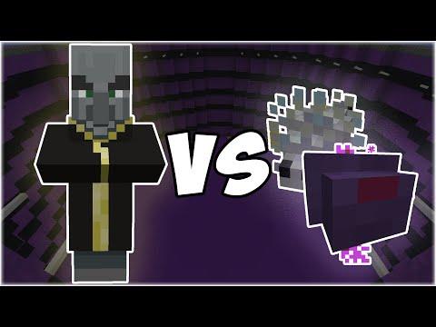 Evoker vs Endermite + Silverfish - Minecraft Mob Battle