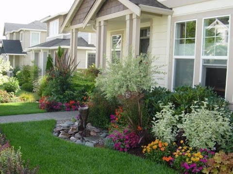 Simple and Beauty Front Garden Ideas and Planning