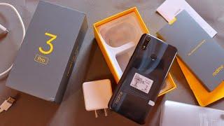 Realme 3 Pro Retail Unit Unboxing | Carbon Gray Colour | Google Camera Support |  Widevine L1 Check