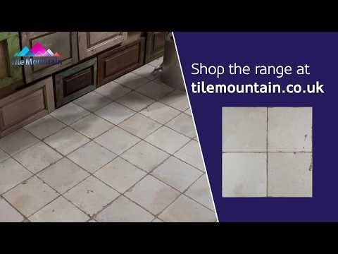 Quick Look: Rombos Rustic Cream Floor Tile (443320) - Tile Mountain