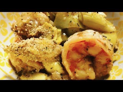 Instant Pot Shrimp Oreganata