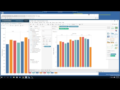 Tableau | Live vs Extract Data Source Demo