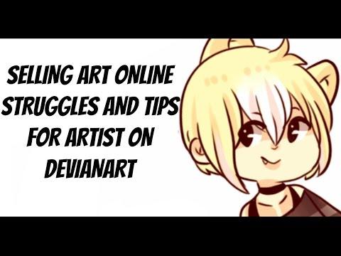 SELLING ART ON DEVIANTART STRUGGLES