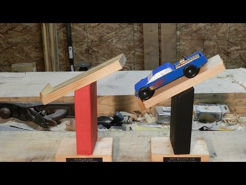 First Pinewood Derby