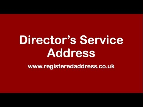 Director's Address Service by RegisteredAddress.co.uk