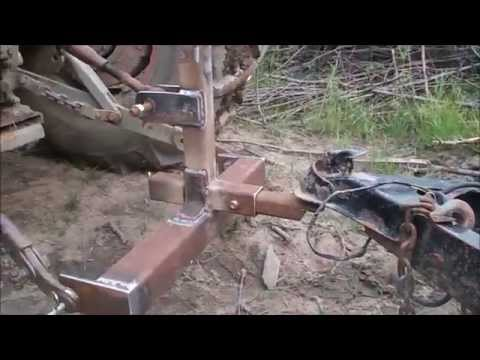Testing My Homemade Quick Hitch, For My Massey Ferguson Tractors, Off Grid Homesteading