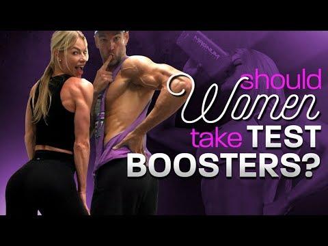 SHOULD WOMEN TAKE TEST BOOSTERS?